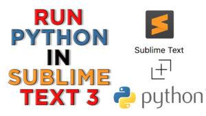 how to run python code